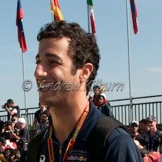 Formula 1 Melbourne 2014 Drivers and Celebratory s - Formula 1 Grand Prix