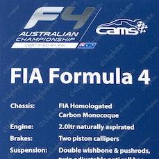 Formula 1 Melbourne 2014 - Launch FIA / CAMS - Formula 4 - Formula 1 Grand Prix