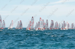 2015 Tasar World Championships Busselton Day 1