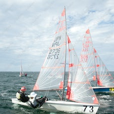 2015 Tasar World Championships Busselton Day 4 Race 7