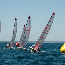 2015 Tasar World Championships Busselton Day 3 Race 3