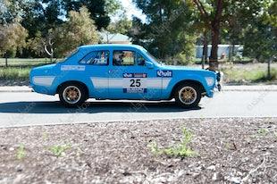 2015 Targa Rally Kostera's Zig Zag