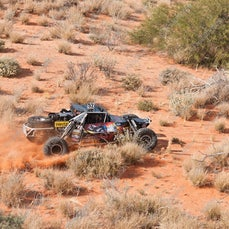 2015 (24-10-2015) Gascoyne Dash Race 1 Coonantha Gascoyne Junction - Bright and early Saturday morning the cars are first to leave the Coonatha Race Complex...