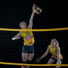 Volleyroos / Wa Hornets - Photoshoot with 