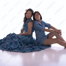 Andrew Kilburn – Portfolio-Studio & Themed Photo Shoots - Model Holly Wu (left) modeling a dress (Song of the Sea) designed by Cynthia Chong (right) The...
