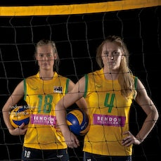 Volleyroos Womens Volley Ball - Photoshoot with 