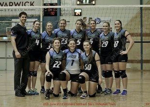 25-06-2016 Womens Volleyball - Northern Stars Vs Southen Cross Vollyball Team - Some of these photos will appear on the page WIAS Women In Australian Sport...