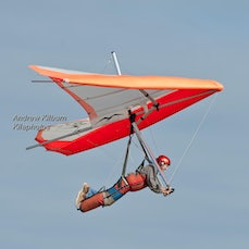 Hang Gliding Cottesloe 22-05-2016