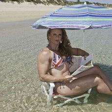 19-01-2018 Alysha Kempf IFBB Athlete BiG ReD Rockinghan Beach Western Australia - Alysha Kempf IFBB Athlete BiG ReD Rockinghan Beach Indian Ocean Western...