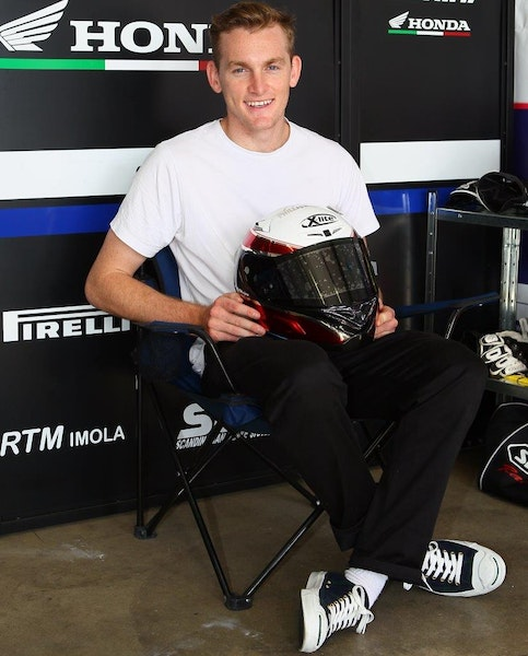 Melb's Alex Phillis will race world supersport at Phillip Island with Aark Honda
