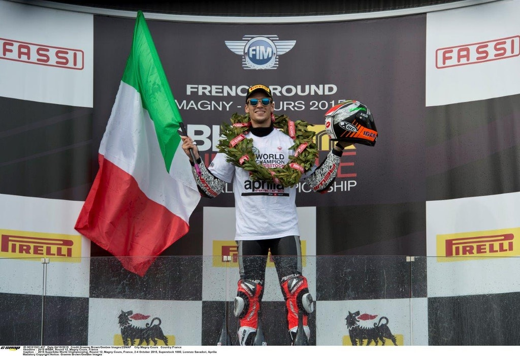 Lorenzo Savadori 2015 STK 1000 champ will race for Aprilia