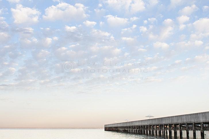 Cloudy Morning, Brighton Baths© - Cloudy Morning, Brighton Baths Melbourne, Victoria Open Edition
