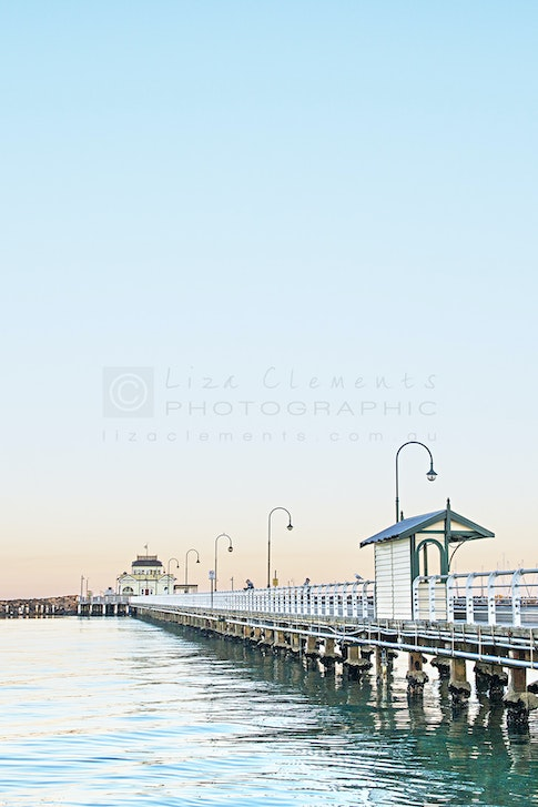 Sunrise, St Kilda Pier - Sunrise, St Kilda Pier St Kilda, 2016 Open Edition Silver VIPPY Award, 2017 AIPP Victorian Professional Photography Awards