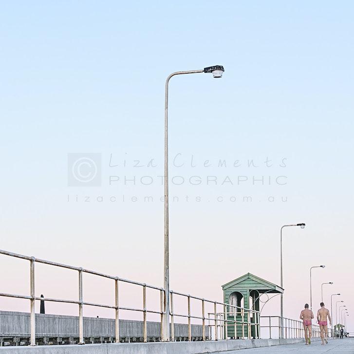 Down The Middle© - Down The Middle Middle Brighton Pier, 2017 Open Edition