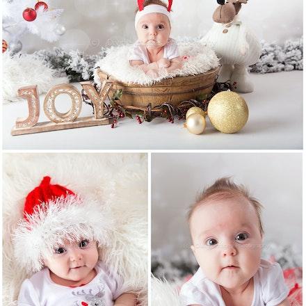 Ava's 1st Christmas. 2016