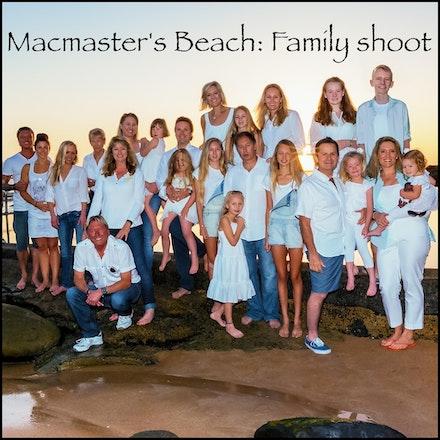 Kelly's Family Beach Shoot. Oct 2013