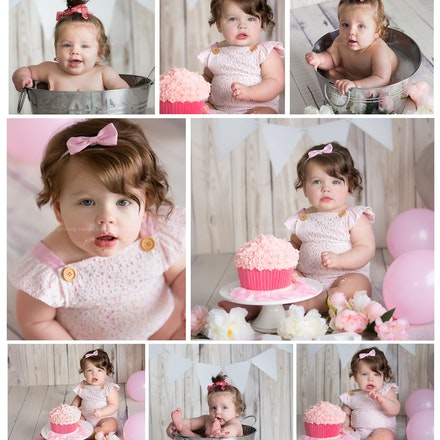 Aubree cake smash. preview