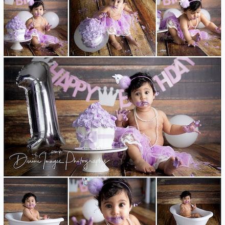 Aavya's Cake Smash