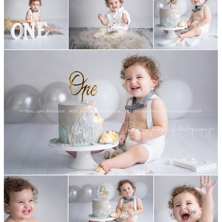 Husayn | 1 Year |Cake Smash