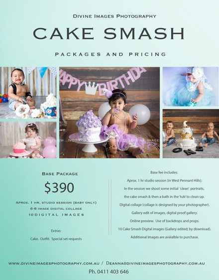 1.Cake smash.2018-PricingSheet