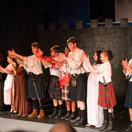 Macbeth, Senior Drama - The HillsGrammar School Senior Drama Ensemble, presented an adaptation of Macbeth on Wed 5th and Thurs 6th June.