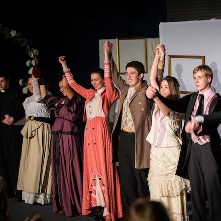 The Importance of being Ernst, Senior Drama - The Hills Grammar School Senior Drama Ensemble, presented an adaptation of The Importance of being Ernst...
