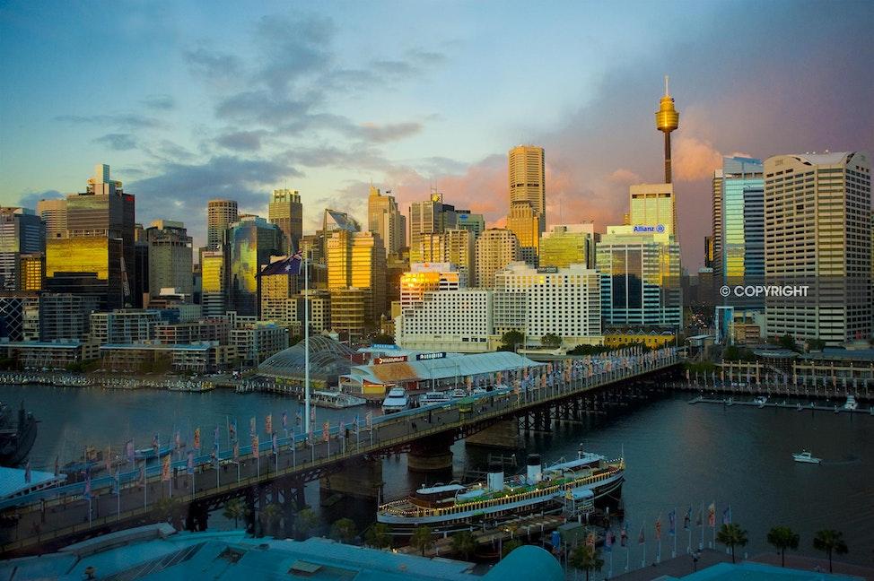 SUNSET_AAA7420 - Skyline, Sydney, sunset, Australia, NSW,