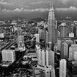 MALAYSIA - MODERN,KNIGHT,LIGHTS,PETRONAS TOWERS