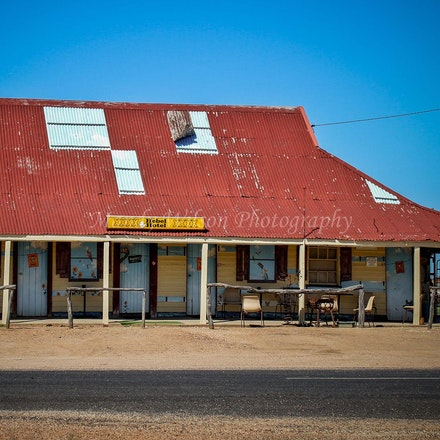 Hebel Hotel - QLD - The Hebel Hotel originally opened in 1894 as a Cobb and Co. changing station and later operated as a hotel. According to locals the...