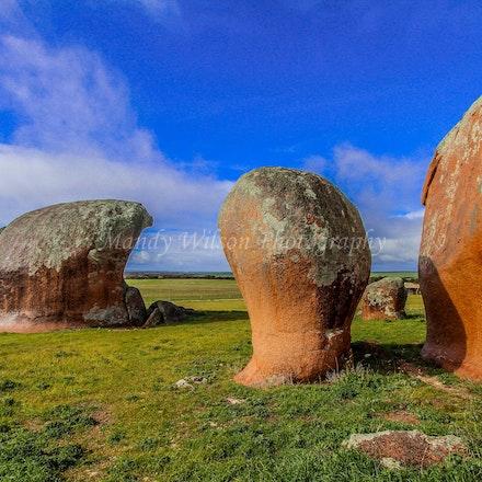 Murphey's Haystacks - SA