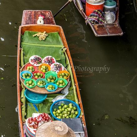 Damnoen Saduak Floating Market - Thailand