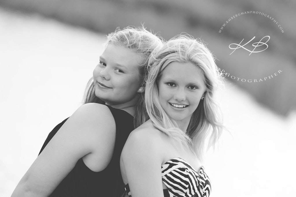 Sisters-are-to-celebrate - Beautiful glamour portrait by Logan City Portrait Photographer, Kerry Bergman