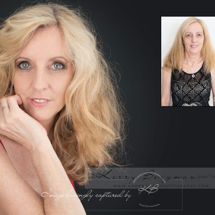 Before and After - Portfolio of beautiful transformations experienced with Kerry Bergman Photographer.  See these women in their before and after photos....