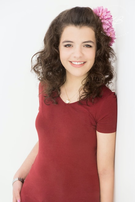 Teen Portraits - Gorgeous Teen Photography with Logan City photographer Kerry Bergman in her Waterford Studio.