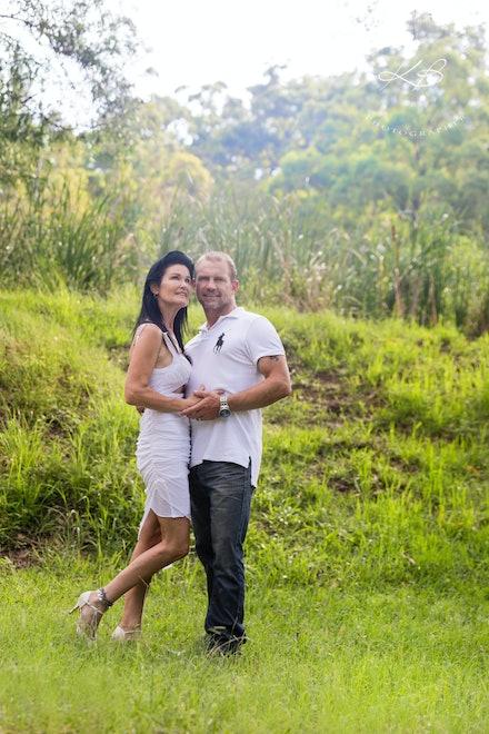 Romantic Location Portraits - Couples Session at Thunderbird Park, Mt Tamborine