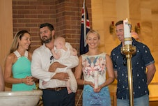 Indie's Christining