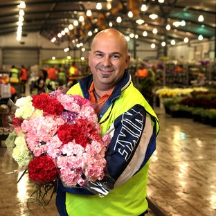 Footscray flower market
