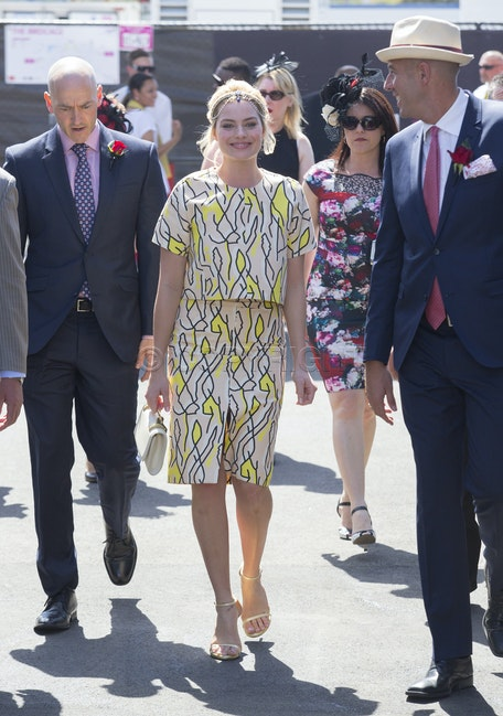 Margot Robbie Emirates Stakes Day - Emirates Stakes Day Flemington  Margot Robbie