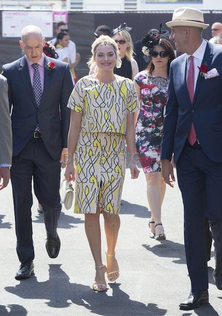 Margot Robbie Emirates Stakes Day - Emirates Stakes Day Flemington  Margot Robbie