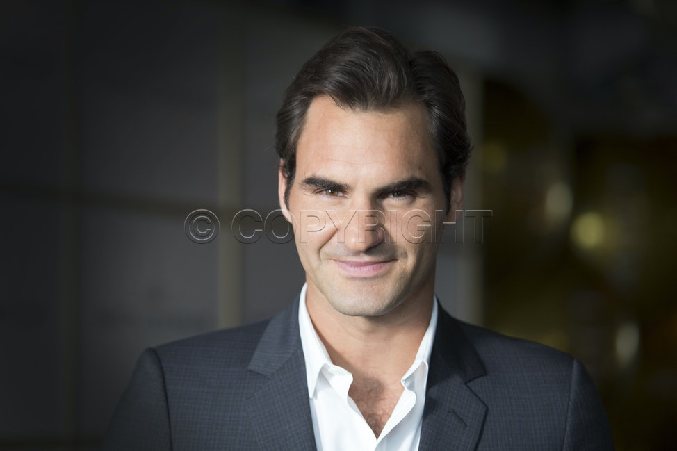 A34T4107A - Australian Open 2016.Roger Federer attends a promotional gig at Mon Bijou in Melbourne and played a game of table tennis