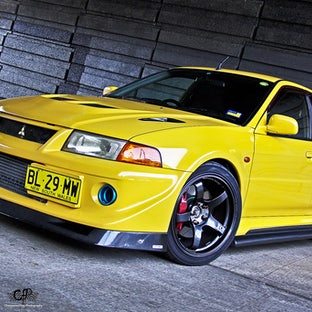 Nathan Evo 5 - On location Photoshoot for Nathan's beautiful yellow Evo 5.. Stunning and so great to photograph.