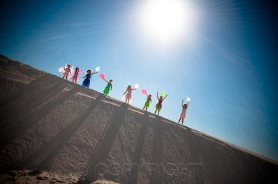 Helen Osler FairiesDSC_0012 - The sun was hot in the Lancelin dunes this posse of fairies.
