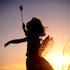 Helen Osler FairiesDSC_4916 - Casting a fairy spell at city beach