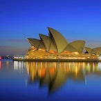 Sydney Australia - This image was taken on a very calm morning at around 5am.  I never tire of viewing this unique and iconic building, one of the modern...