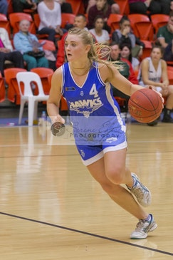 Jessie Clayton   Perry Lakes Hawks - Hawks vs Wolves 2014