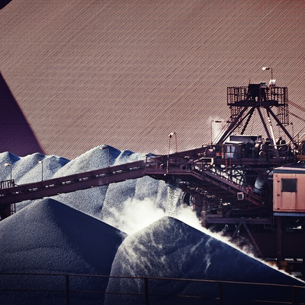 Industrial - Ore Processing - Mineral processing - industrial site