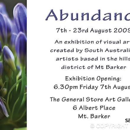 SALA flyer - DL postcard created for South Australian Living Arts Festival - SALA