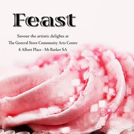 Feast poster - Poster created for the Adelaide SALA festival