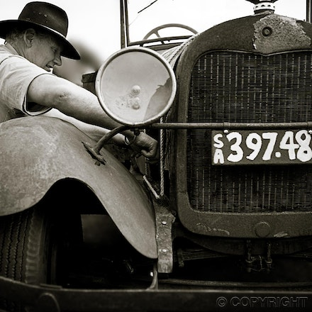 Running Repairs - Simplicity ensured this old car would keep running for many years yet to come