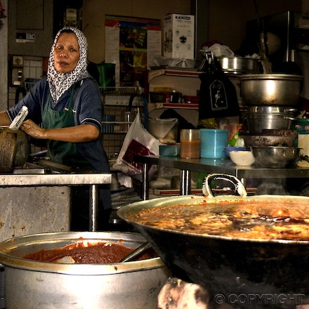 Railway Kitchen - The kitchen of the Kuala Lumpar Railway Station - Malaysia